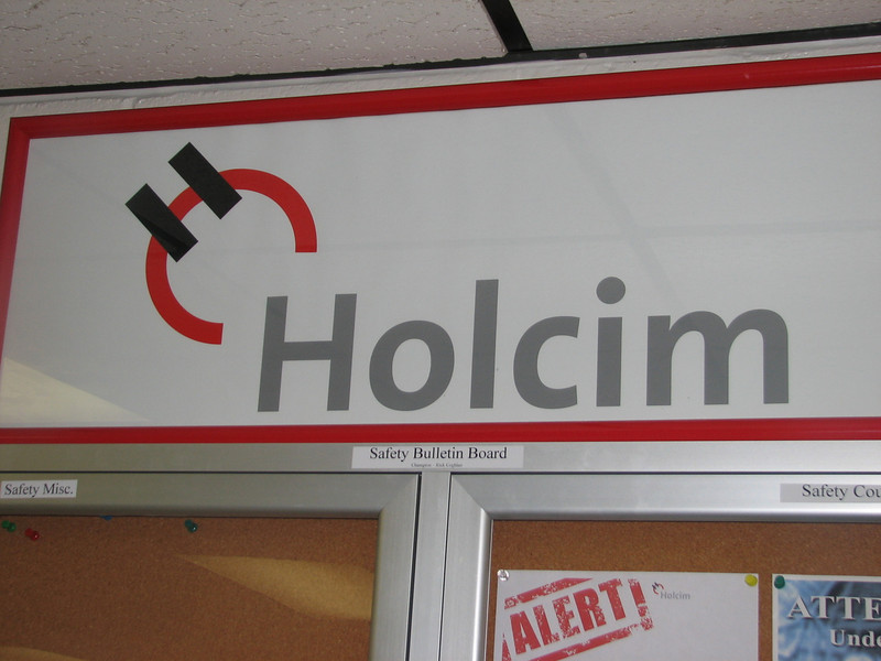 Holcim cement industry
