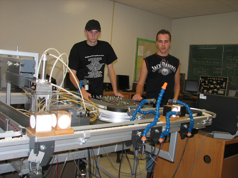 Timo and Frank (Mechatronics, Automation & Control by Del Faulkner, EMCC)