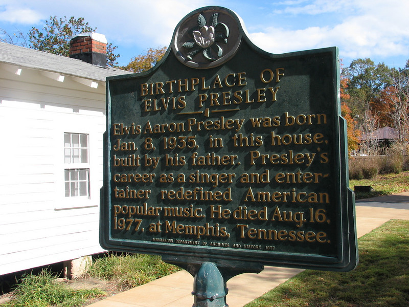 Elvis Presley birthplace at Tupelo MS