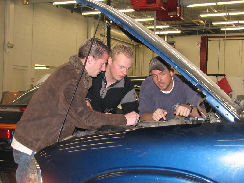 Pim and Benny (Automotive Technology , Grady Graham)