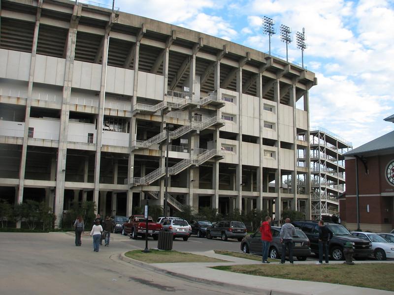 Mississippi State University Davis Wade football stadion (Starkville MS)