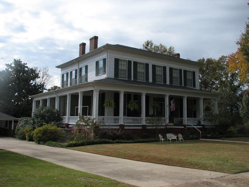 17 th century home (Columbus MS)