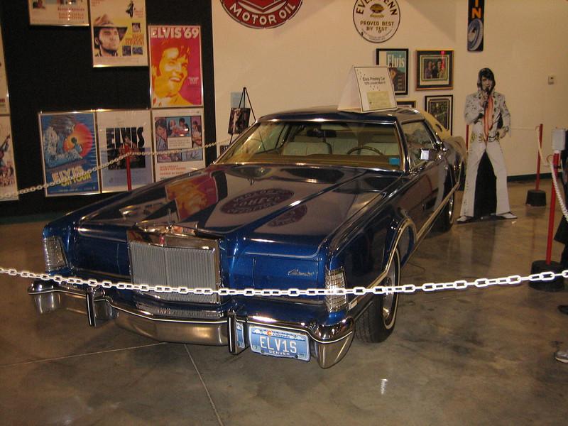 Elvis car (Automobile Museum)