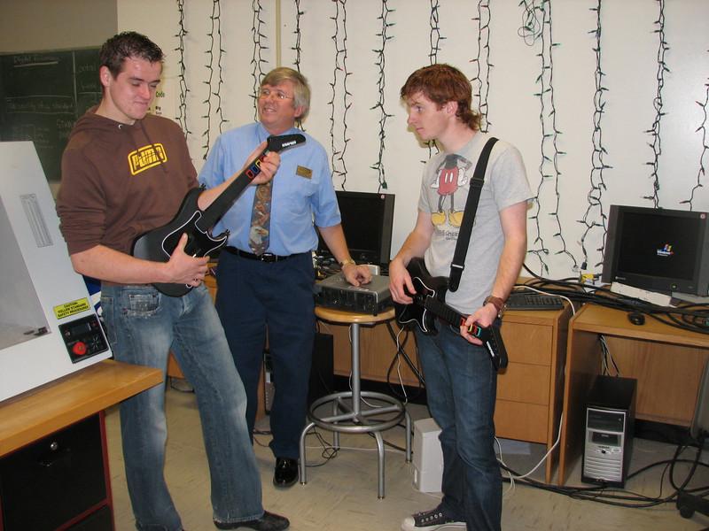 Ruud and Jimke (Electronics Technology with Bob Lovelace)