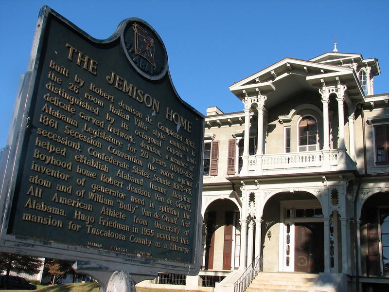 Jemison Home (Tuscaloosa,  Alabama)