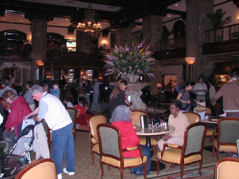 Hall, the Peabody Hotel (Memphis, TS)