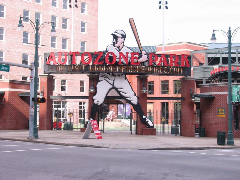 Memphis Red Birds (Autozone park, Memphis)