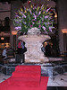 duck pond (Peabody Hotel, Memphis, TS)