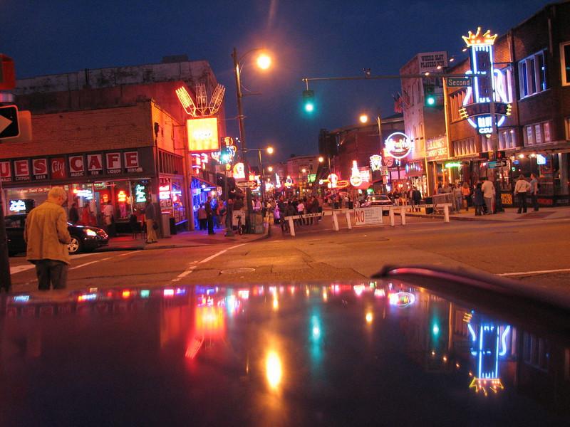 Beale street (Memphis, TS)
