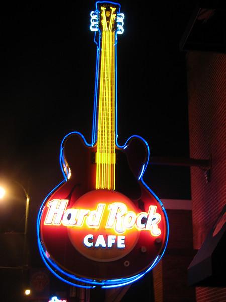 Hard Rock Cafe, Memphis (Beale street, Downtown)