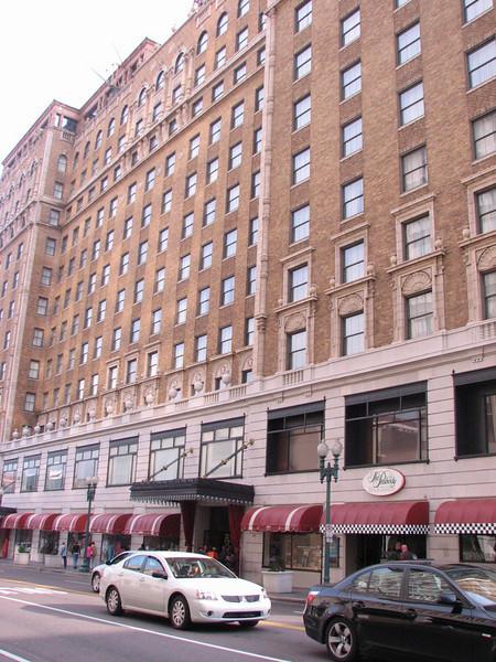 the Peabody Hotel (Memphis, TS)