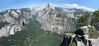 panorama Yosemite Half Dome 5bew.