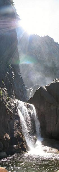 panorama waterval Yosemite 1