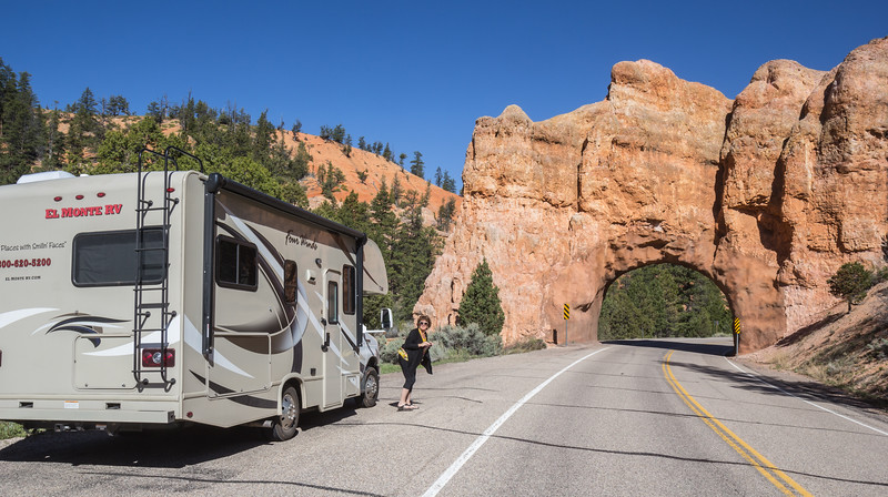 Scenic Byway Tunnel off of Highway 12