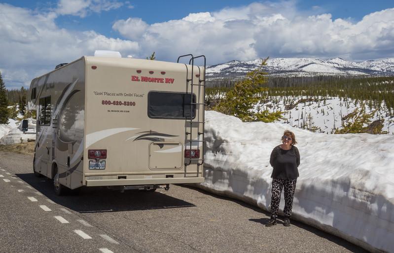 Craig Pass 2518m   Yellowstone N.P.