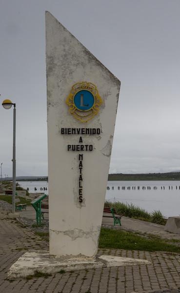 Sign Puerto Natales