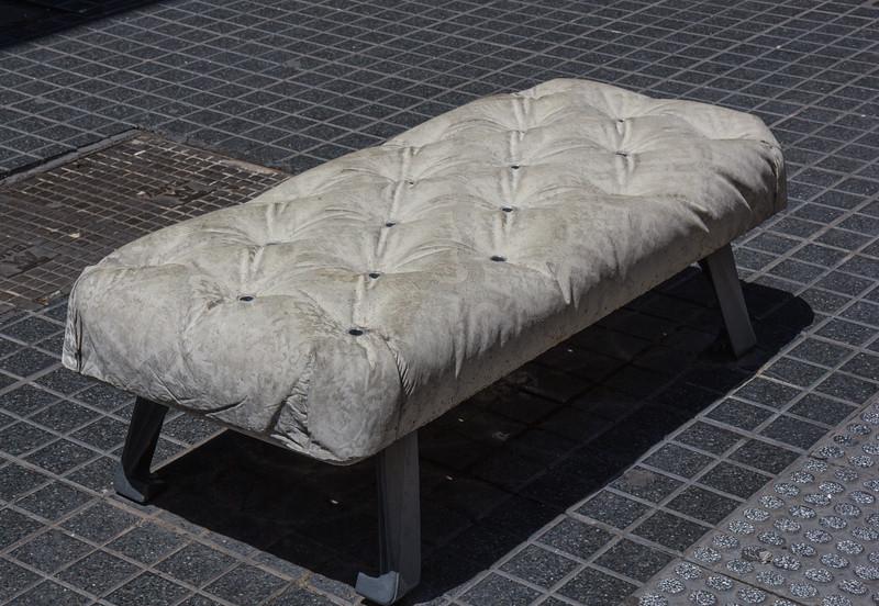 Concreet bench