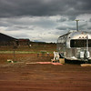 Airstream and Stormy Skies