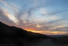 Gorgeous sunset as I was leaving Florida Canyon