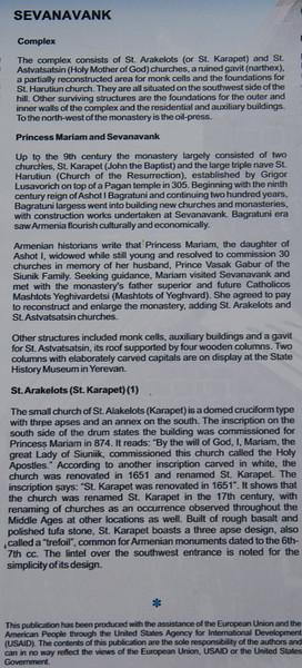 Sevanavank monestery