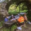Pick nick place near old bridge