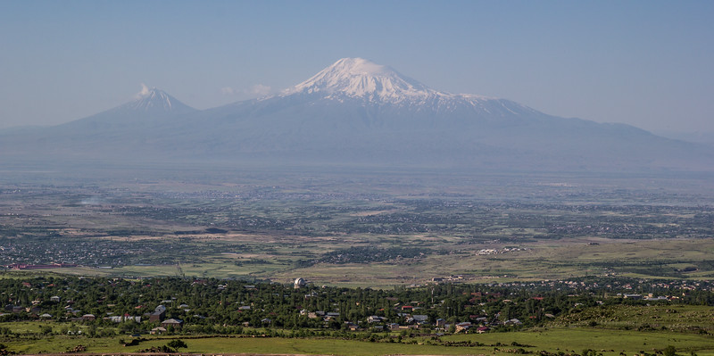 View at Mount Ararat  5137m