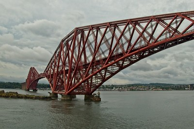 Forth Bridge, a Unesco World Heritage Site.