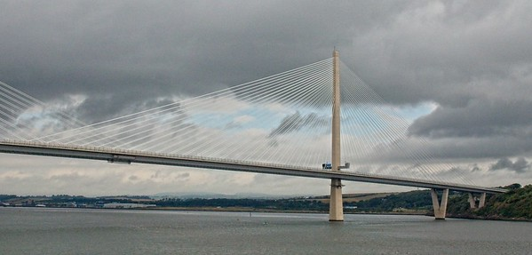 Queensferry Crossing, opened in September 2017