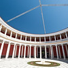 Athens, Central courtyard in Zaggeion, the Main Exhibition Hall