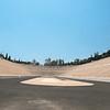 Athens, Panathenaic Olympic Stadium.  Note how long and narrow the field.