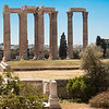 Athens, one of many ancient ruins throughout the city.