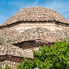 Athens, roof of old church in the Plaka neighborhood