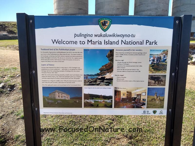 Maria Island NP