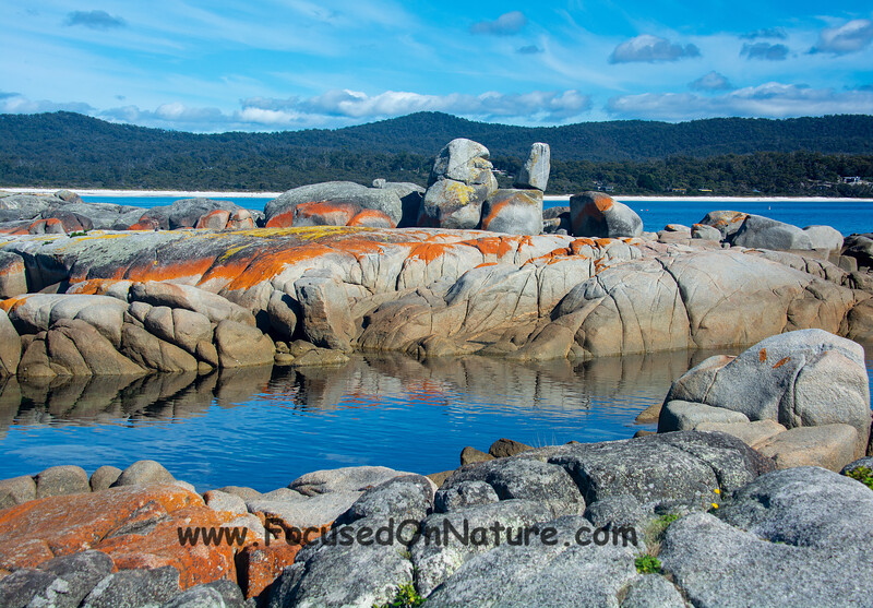 Bay of Fires Scenery