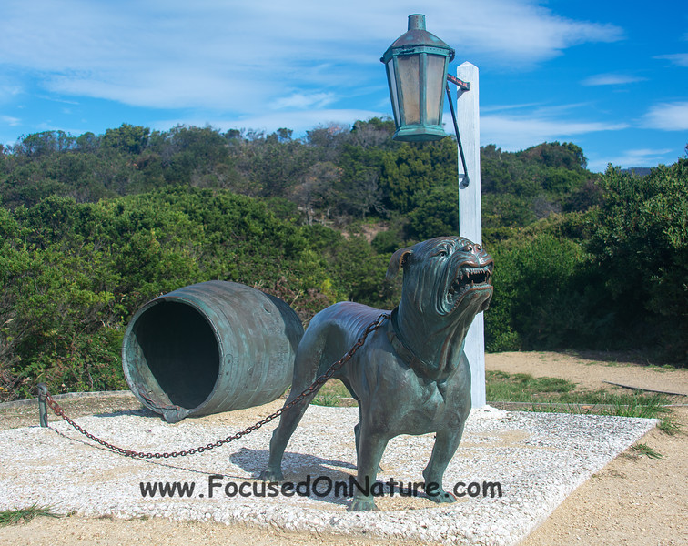 The Dog Line statue