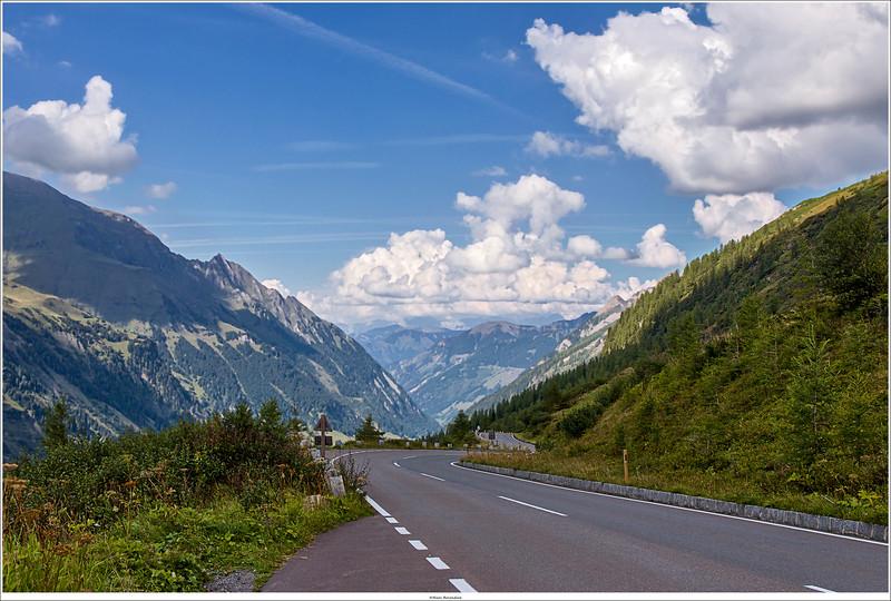 Touring at Grossglockner  High Alpine Road