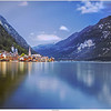 Hallstatt at the Hallstatt lake, Austria