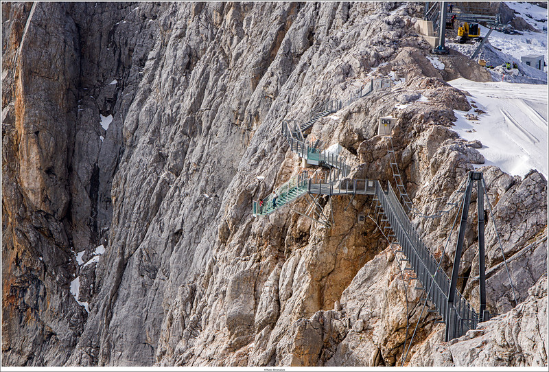 Stairway into Nthingness, Dachstein mountain, Austria