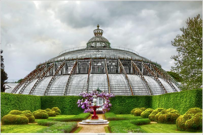Royal Greenhouses of Laeken / Koninkijke Serres van Laeken, Brussel (B)