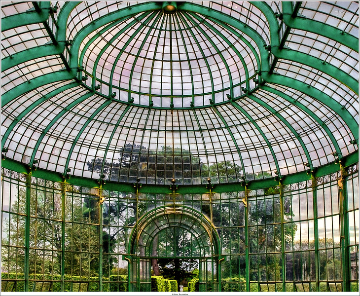 Royal Greenhouses of Laeken / Koninkijke Serres van Laeken, Brussel (B)