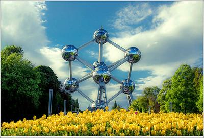 Atomium, Brussel, Belgium