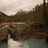 Natural Rockbridge across Kickinghorse River, Yoho National Park