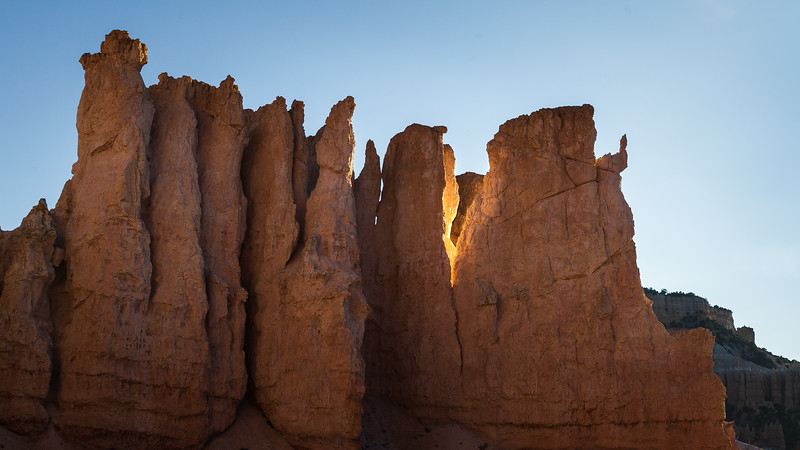 Morning Light on the Hoodoos - Bryce Canyon