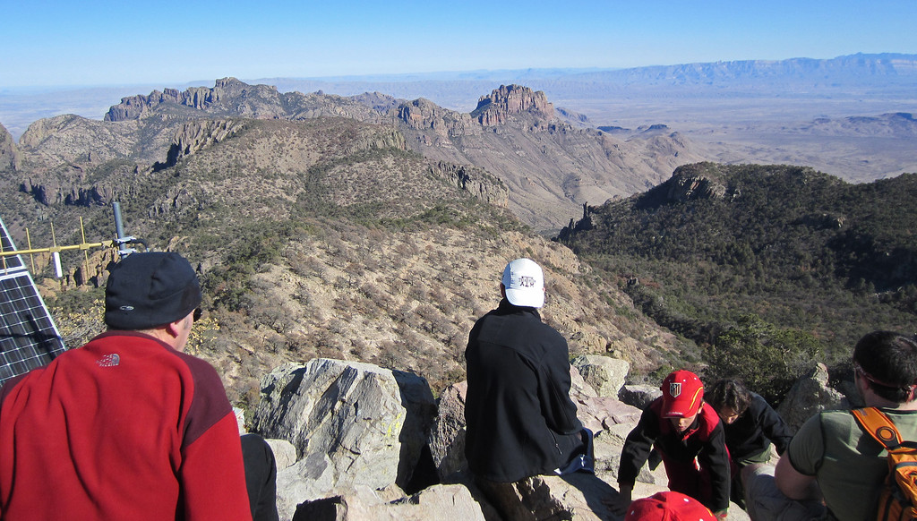View from the top of Emory peak - 7832'
