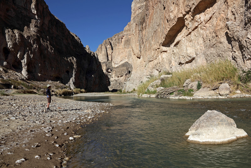 The mouth of Boquillas canyon on the east side of the park