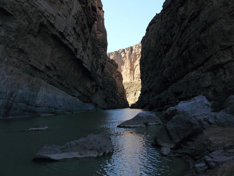 Rio Grande in Santa Elena canyon