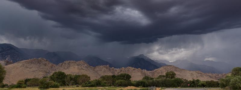 Summer Storm Over the Sierra Nevada