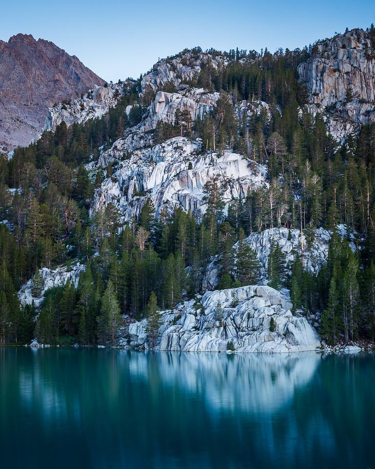 Second Big Pine Lake at Blue Hour, Sierra Nevada