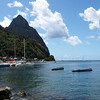 Harbor in Soufriere