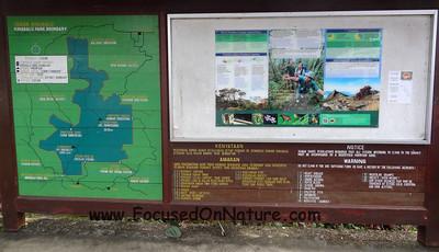 Mt Kinabalu Warnings